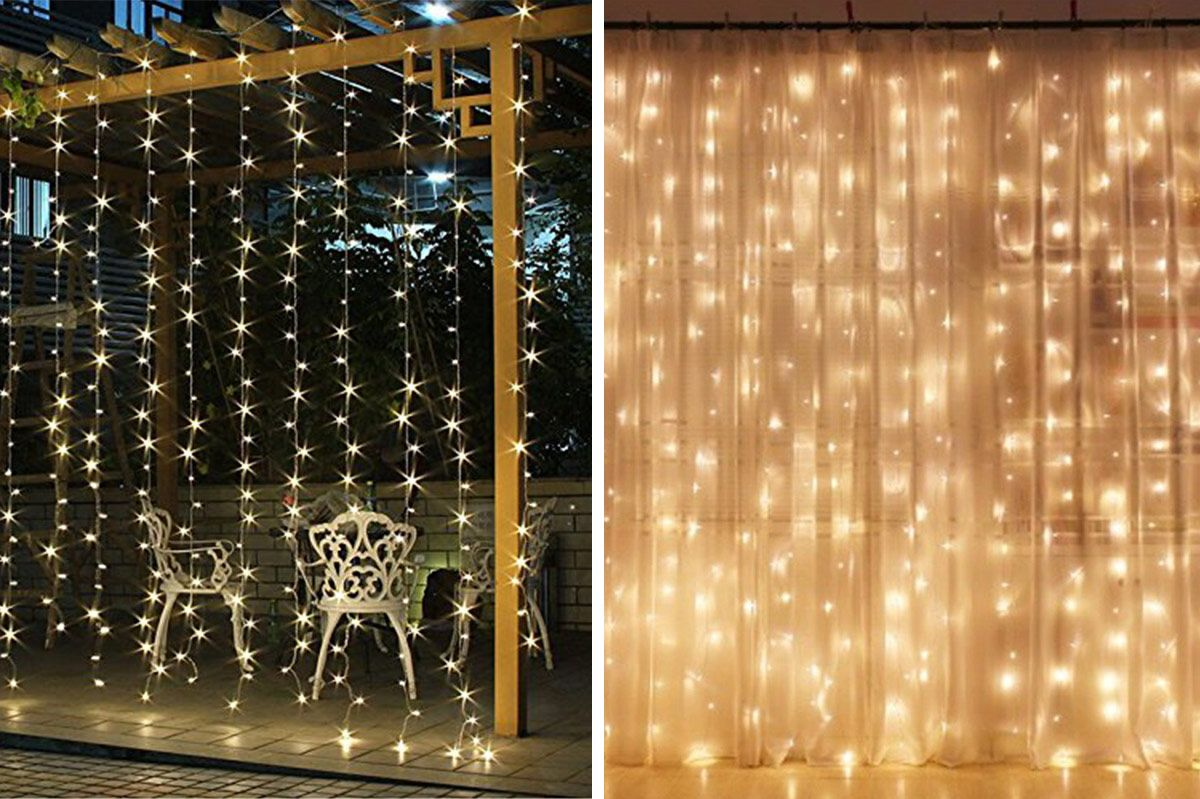 Single String Christmas Lights