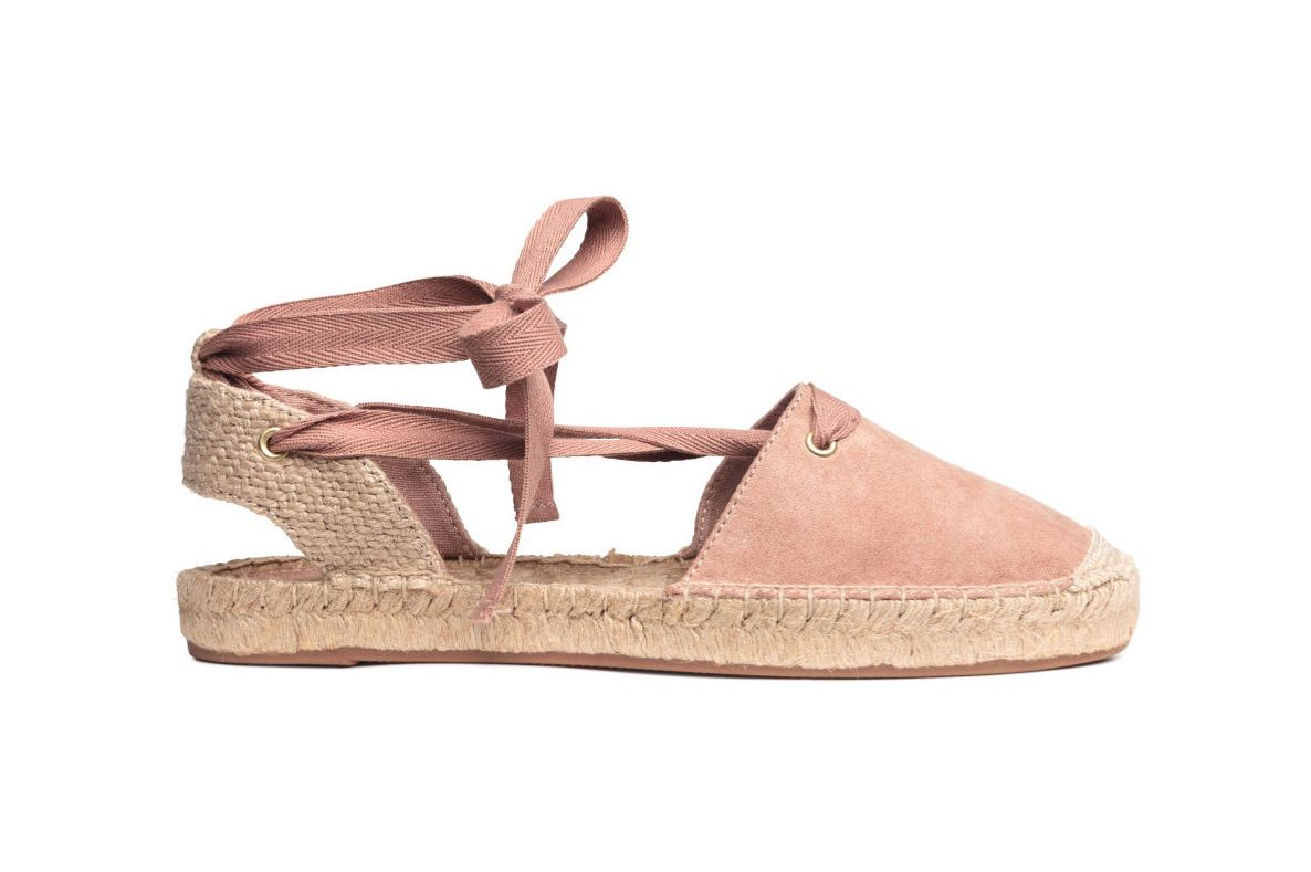 Laced Espadrilles