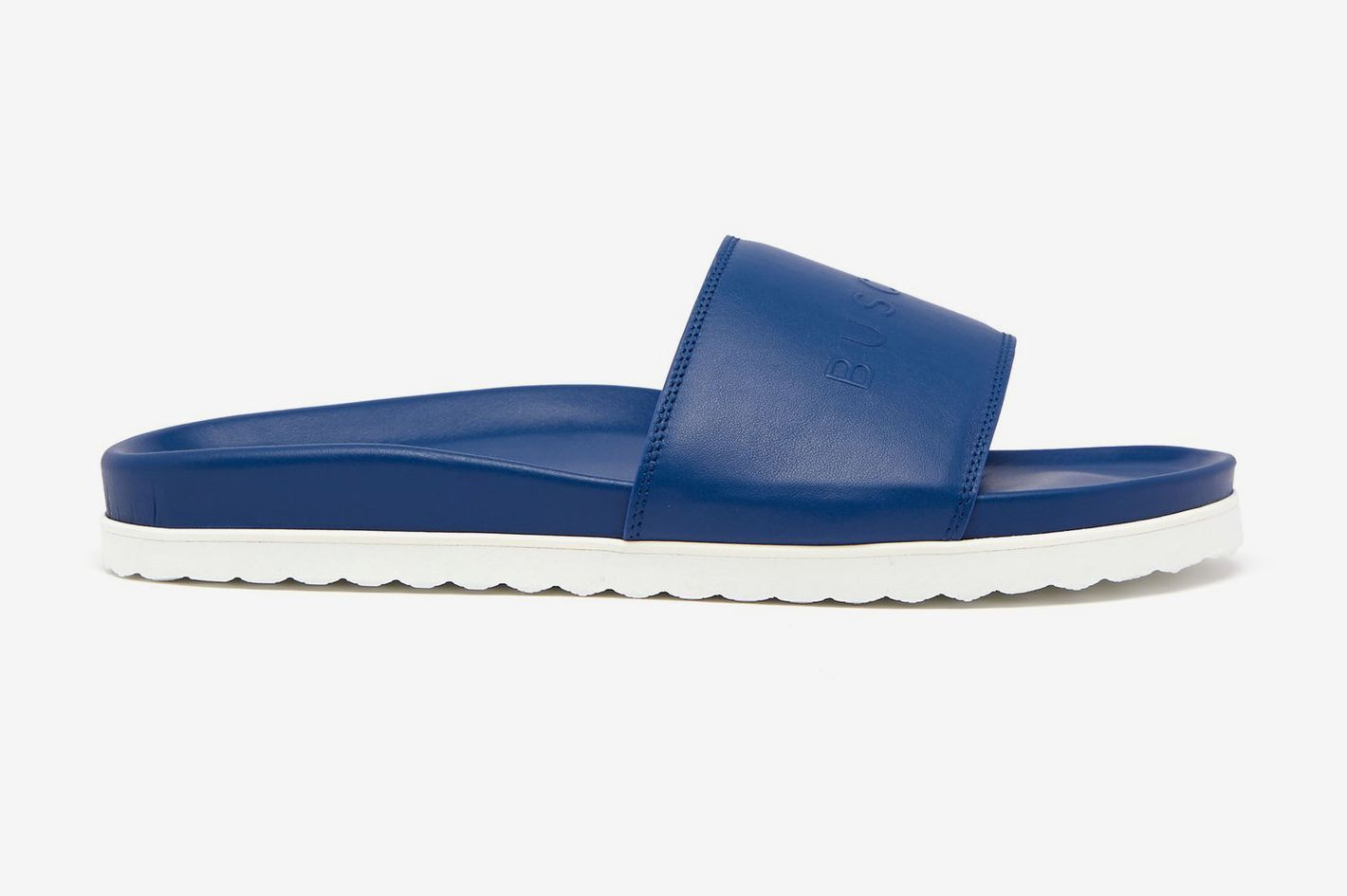 Buscemi Sport leather slides