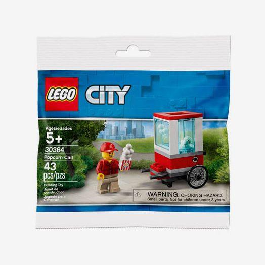 LEGO City Popcorn Cart Mini Set, Ages 5+