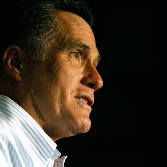 WEATHERLY, PA - JUNE 16: Republican presidential candidate, former Massachusetts Gov. Mitt Romney speaks during a campaign event at the Weatherly Casting Company on June 16, 2012 in Weatherly, Pennsylvania. Mr. Romney continues hs campaign swing through battle ground states as he battles President Barack Obama for votes. (Photo by Joe Raedle/Getty Images)