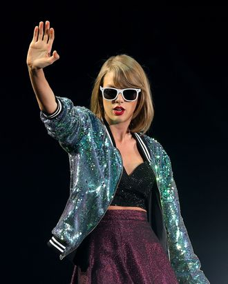 Taylor Swift is totally ready for festival fun.