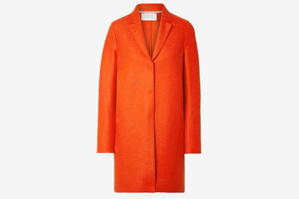Harris Wharf London Oversized Wool Felt Coat