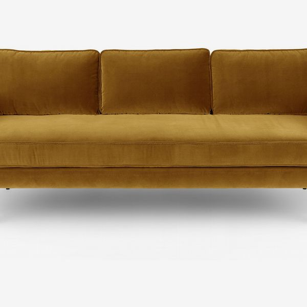 Article Mirage Yarrow Gold Sofa