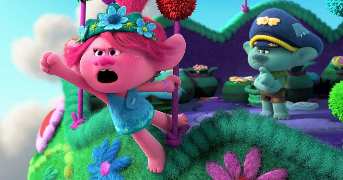 Poppy Heart Dreamworks Trolls The Movie Series 3 Mini-Figure