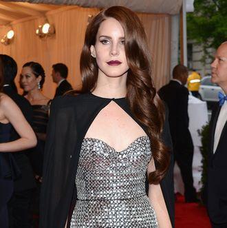 NEW YORK, NY - MAY 07: Lana Del Rey attends the