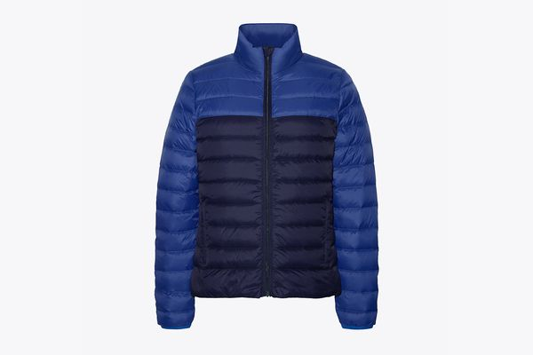 Color-Block Packable Down Jacket