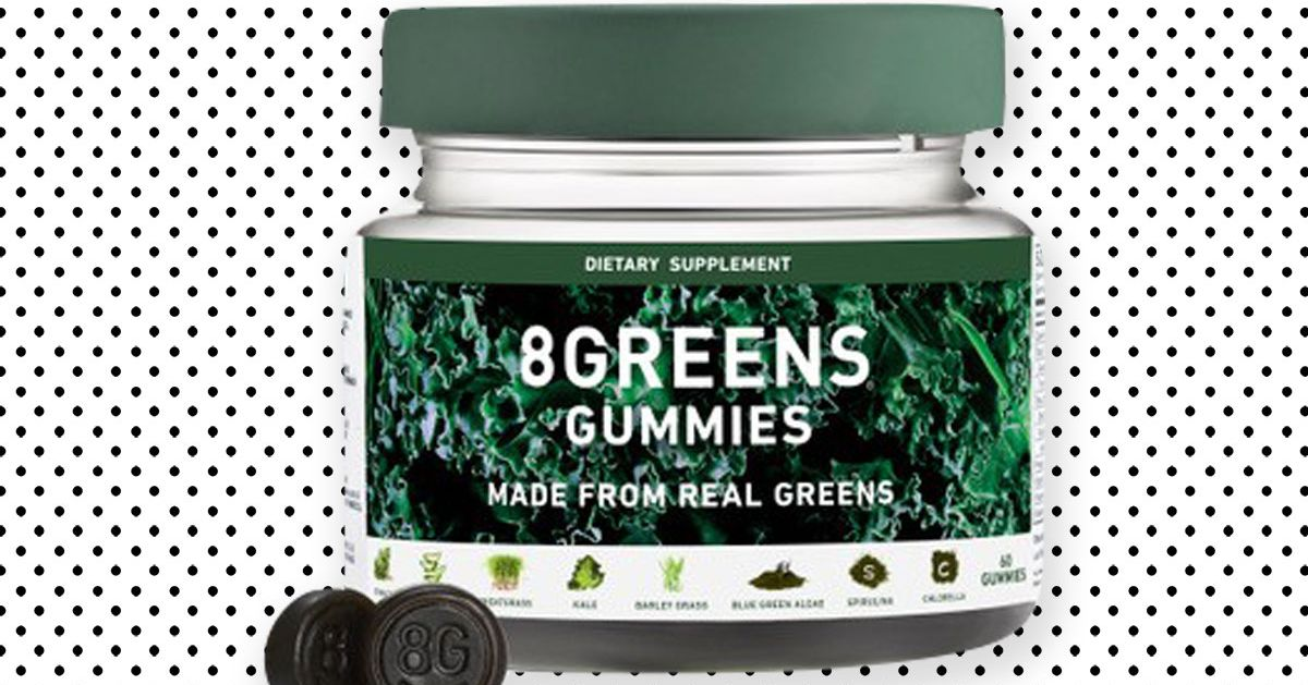 These Gummies Equal 6 Cups of Spinach