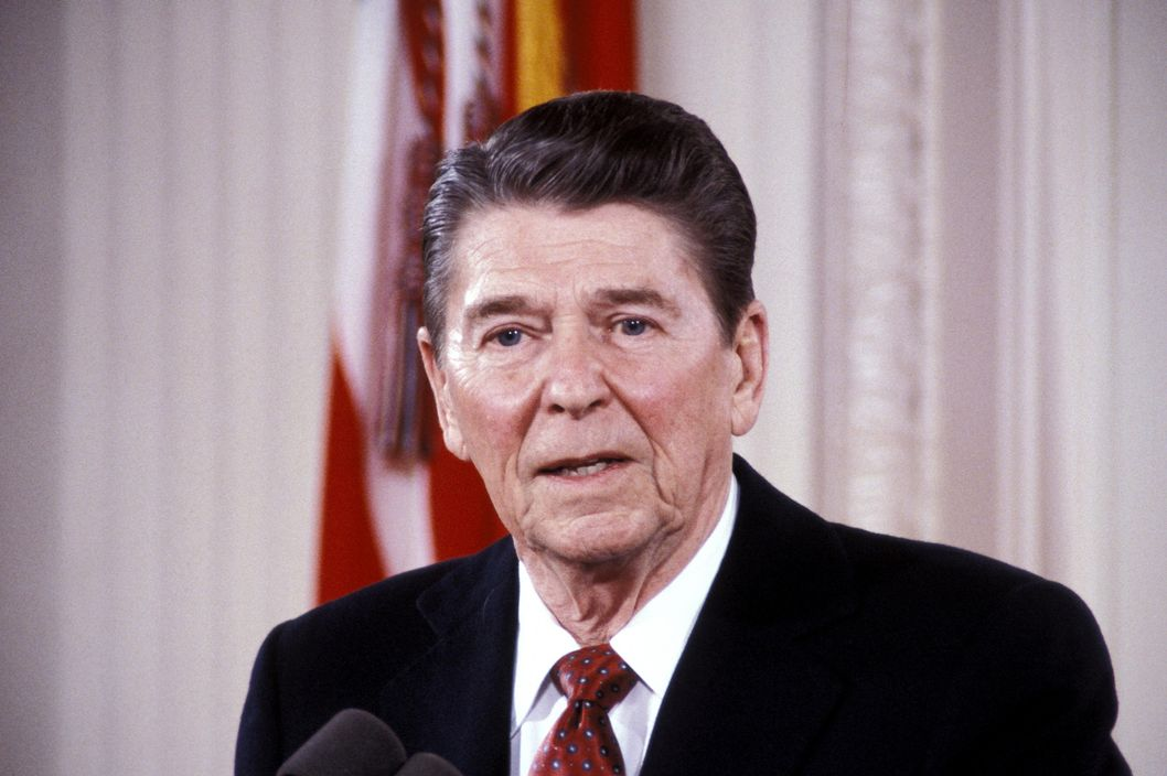 Ronald Reagan (Photo by Ron Galella/WireImage)