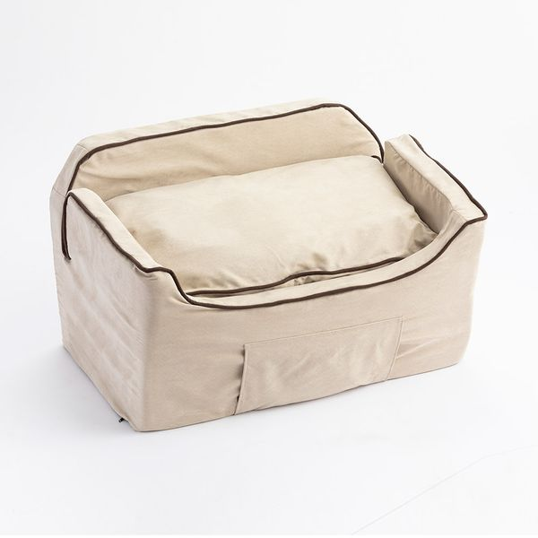 Snoozer Pet Products Luxury Lookout II Microsuede Dog & Cat Car Seat