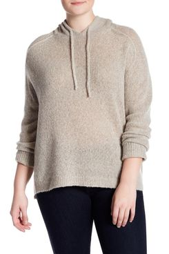 Naked Cashmere Robyn Cashmere Hoodie (Plus Size)