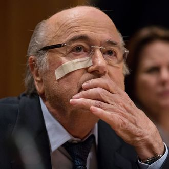 Sepp Blatter Press Conference