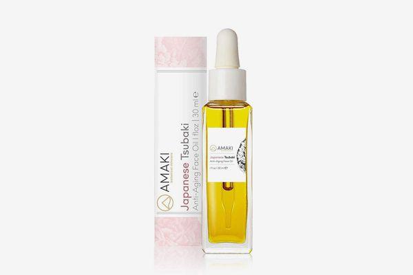 Amaki Japanese Tsubaki Anti-Aging Face Oil
