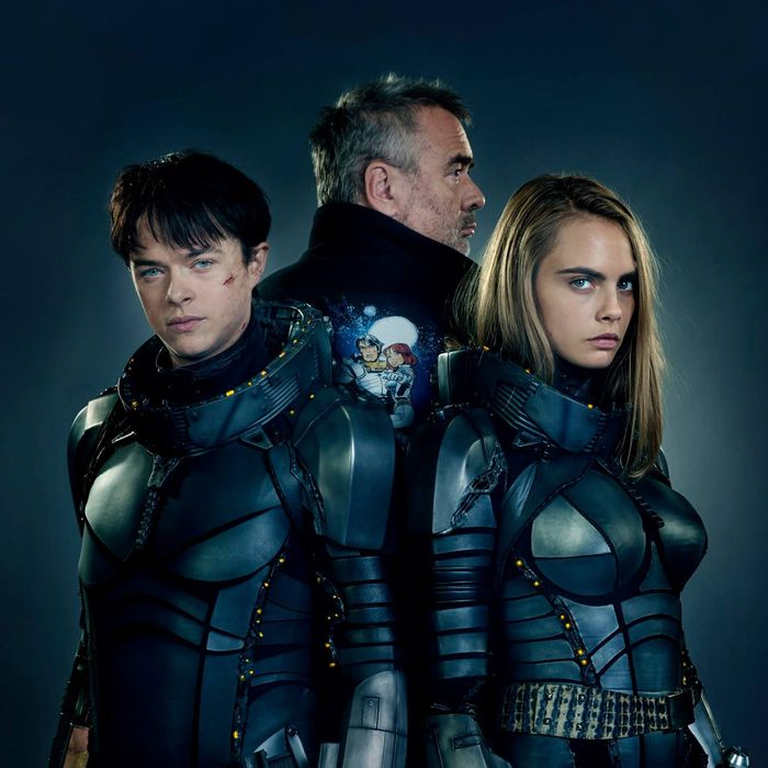 First look at <i>Valerian and the City of a Thousand Planets</i>.