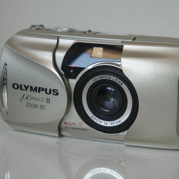 Olympus mju-II Camera