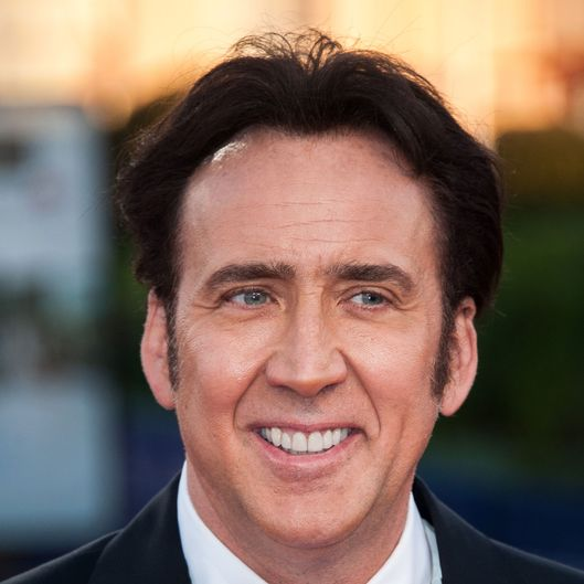 Nicolas Cage arrives at the premiere of the movie 'Joe' during the 39th Deauville American film festival on September 2, 2013 in Deauville, France.