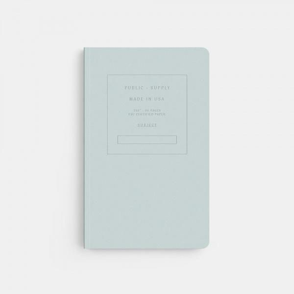 Public Supply Softcover Notebook