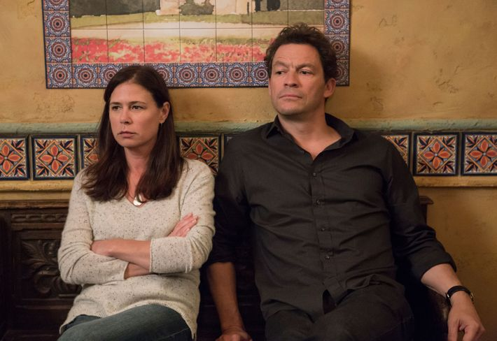 Helen and Noah Solloway (Dominic West) in season four.