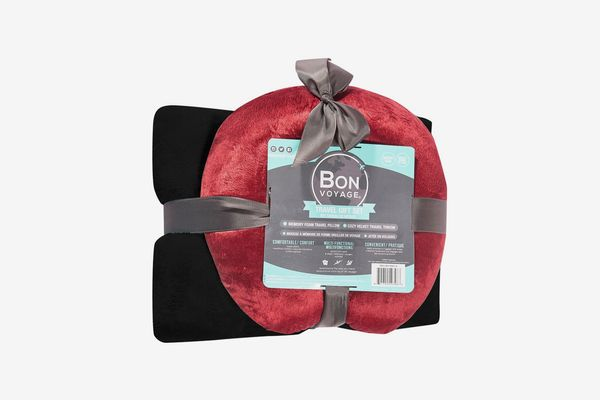 Bon Voyage Travel Pillow & Blanket Set