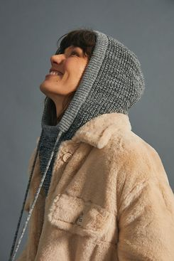 Anthropologie Tess Hooded Snood