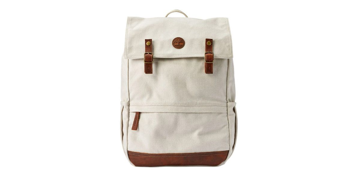 Ipswich Whitewashed Thread Fabric Backpack
