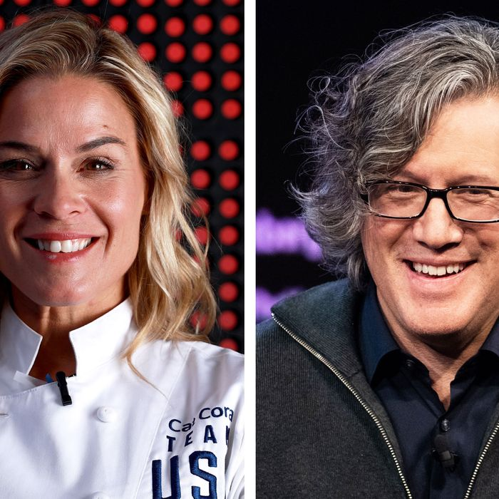 Alinea's Owner And Cat Cora Get Into Internet Argument