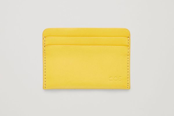 COS Round-Edged Leather Cardholder