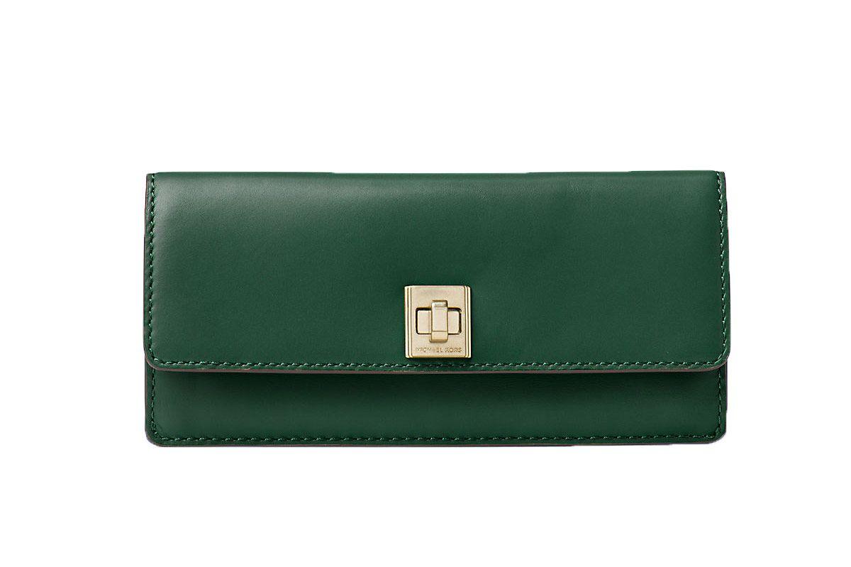 Michael Kors Natalie Leather Wallet