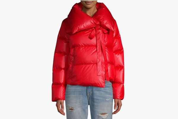 Bacon Puffa Cropped Jacket
