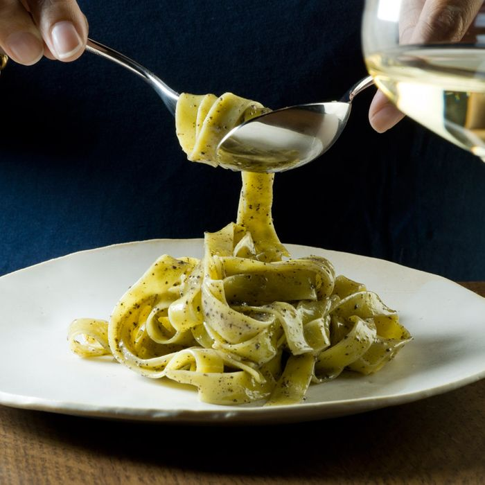 In New York, chef Eric Ripert serves grated yak cheese in a plate of truffled pasta.
