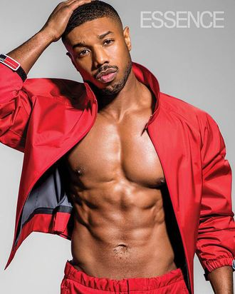 Michael B. Jordan on the cover of 'Essence.'