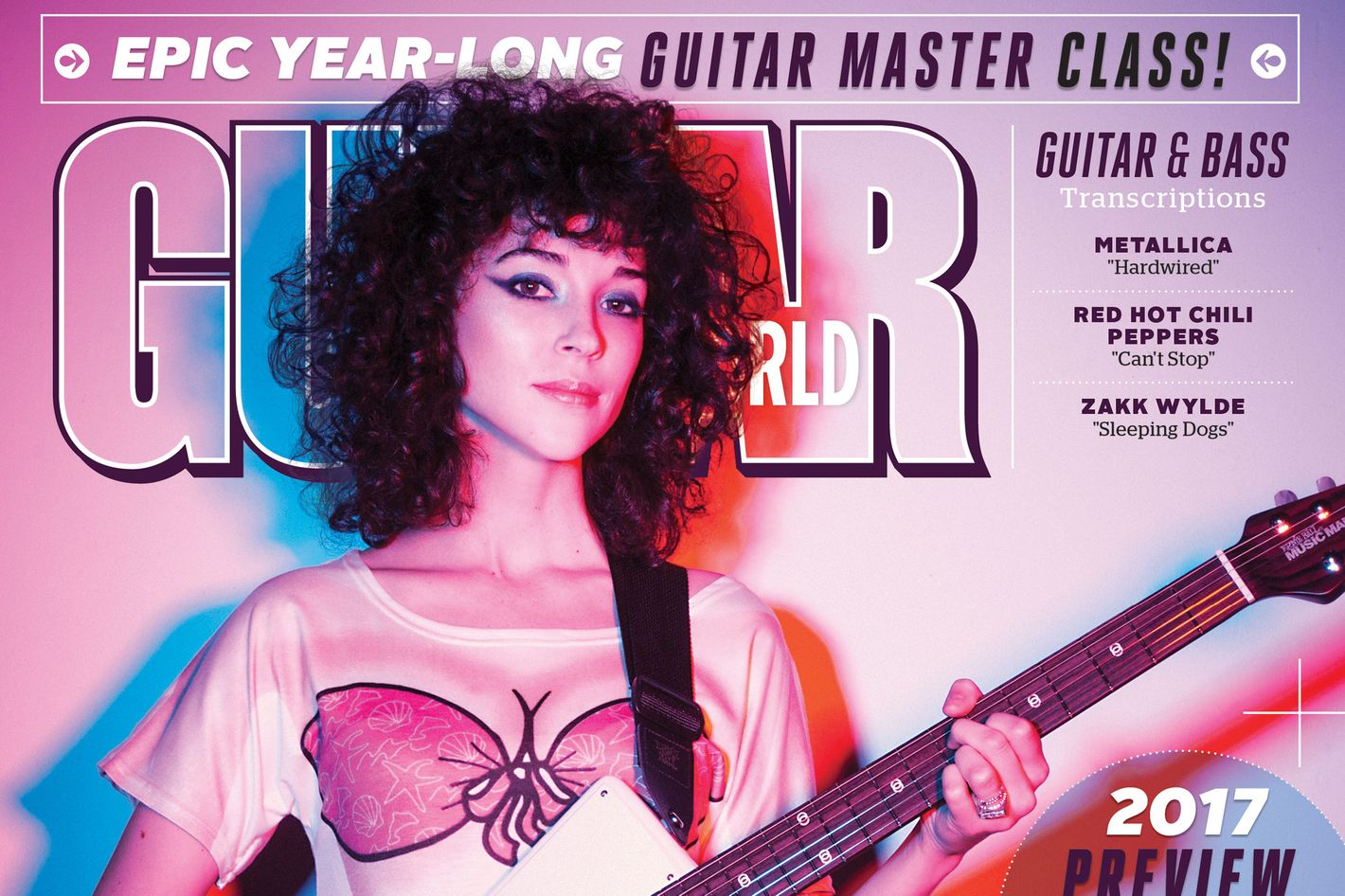 Why St Vincent Appeared On Guitar World In A Bikini