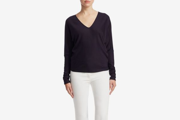 Theory Relaxed V-Neck Sweater