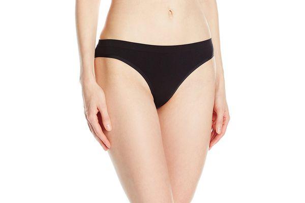Mae Women's Seamless Cheekini Panty, 5 Pack