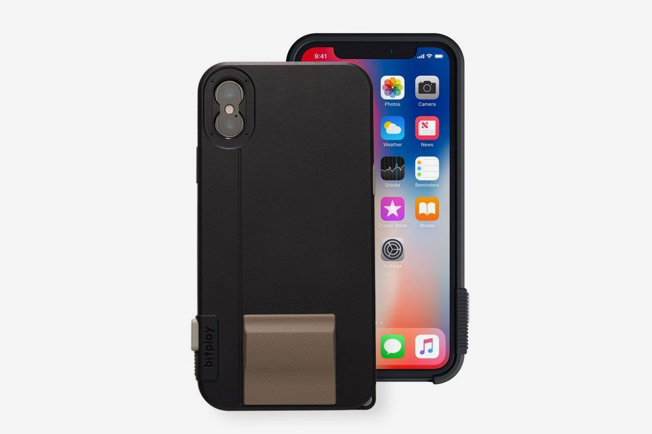 For amateur-photographer dads. Bitplay Snap! X Noir Black - iPhone Camera  Case for iPhone X