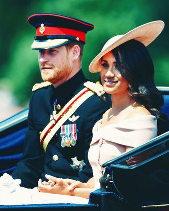 Meghan Markle and Prince Harry.