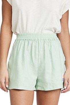 L.F.Markey Basic Linen Shorts