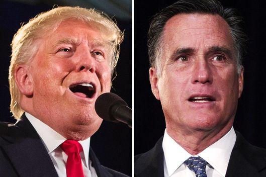 daily intelligencer apology donald trump from mitt romney