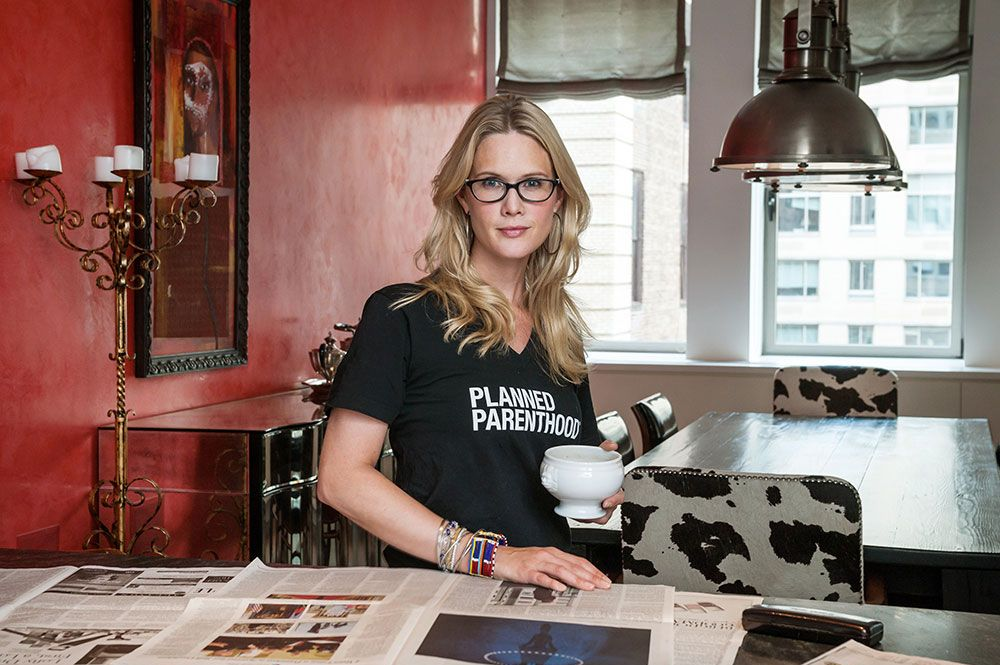 Stephanie March for Grub Street, NY MAG