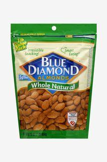 Blue Diamond Almonds Whole Natural 25 Oz.