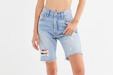 Levi's 501 Slouch Denim Bermuda Short