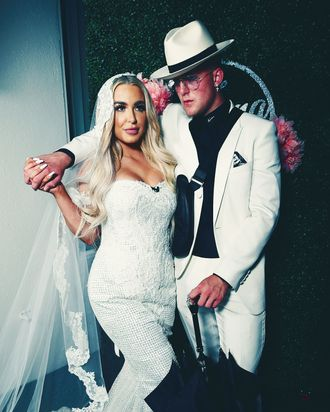 Tana Mongeau and Jake Paul.