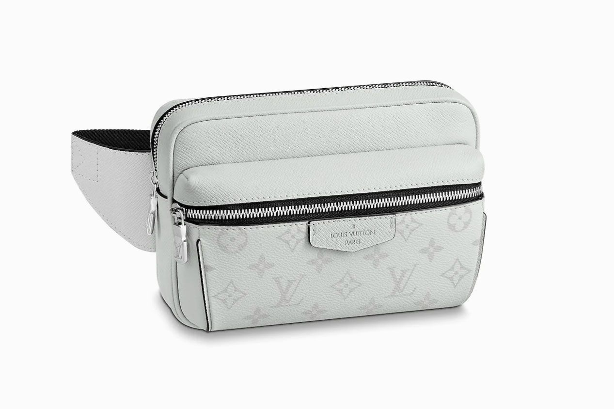 Outdoor Bum Bag in Blanc