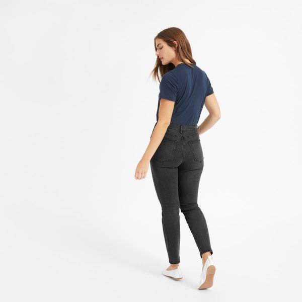 Everlane Authentic Stretch High-Rise Cigarette Jean