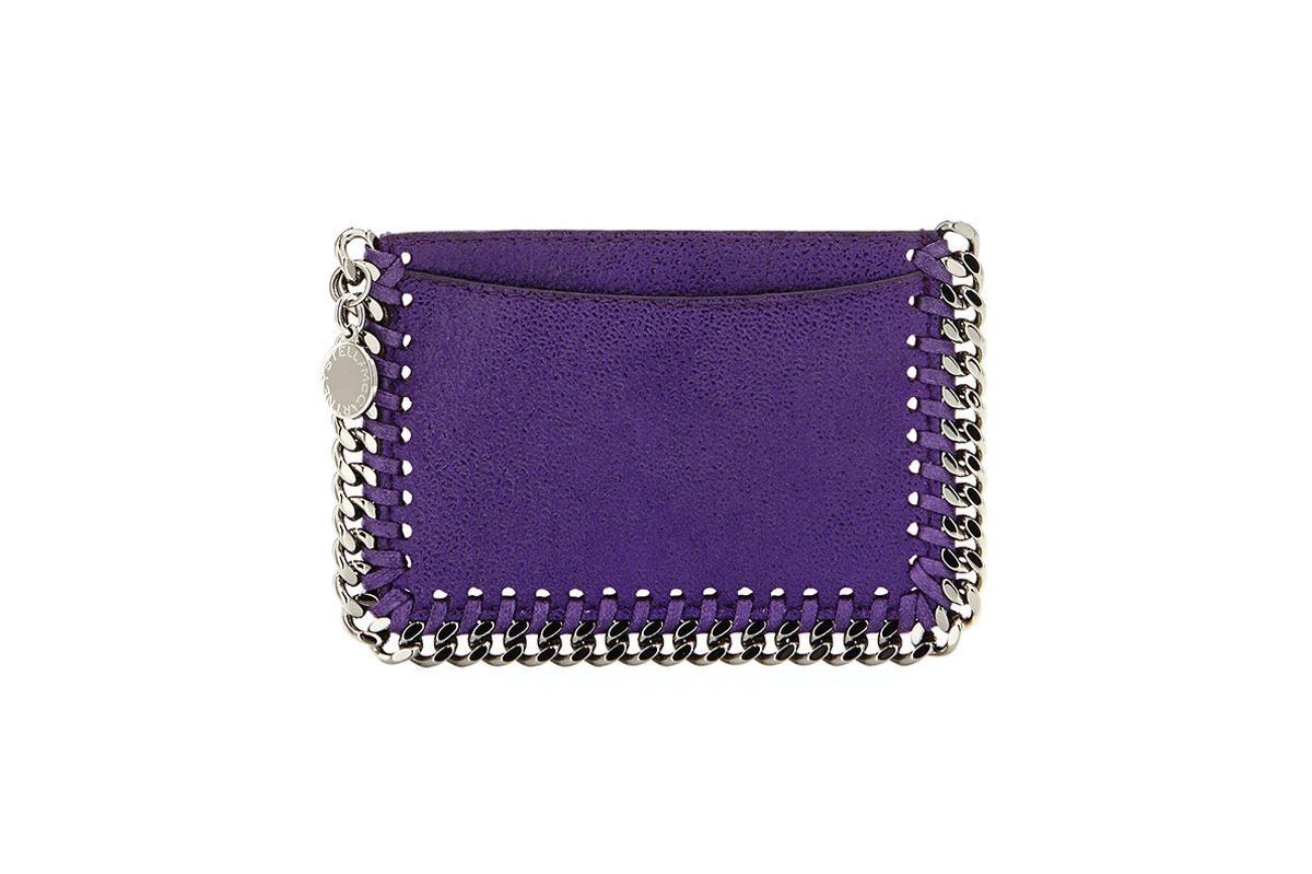 Stella McCartney Falabella Shaggy Deer Card Holder