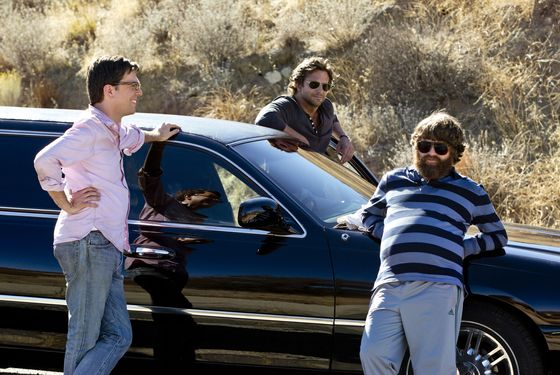 "(L-r) ED HELMS as Stu, BRADLEY COOPER as Phil and ZACH GALIFIANAKIS as Alan in Warner Bros. Pictures' and Legendary Pictures' comedy ""THE HANGOVER PART III,"" a Warner Bros. Pictures release."