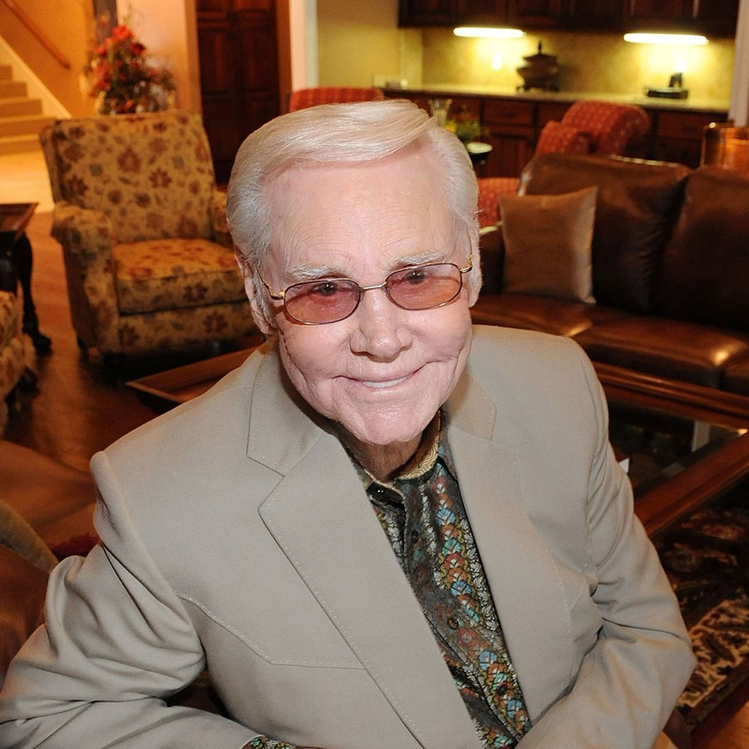 Music Legend George Jones at The George Jones Possum Holler Bed & Breakfast during the Country Crossing Grand Opening Kick-Off Celebration at Country Crossing on January 16, 2010 in Dothan, Alabama.