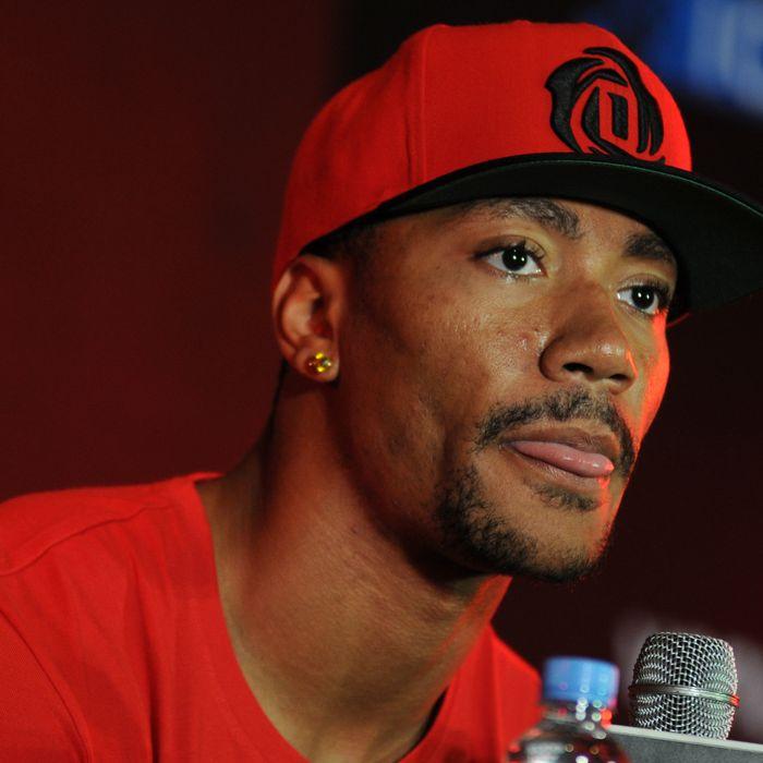 231ac148ee90 NBA star and accused rapist Derrick Rose. Photo  NurPhoto Corbis via Getty  Images