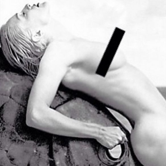 Madonna's nude instagram photo