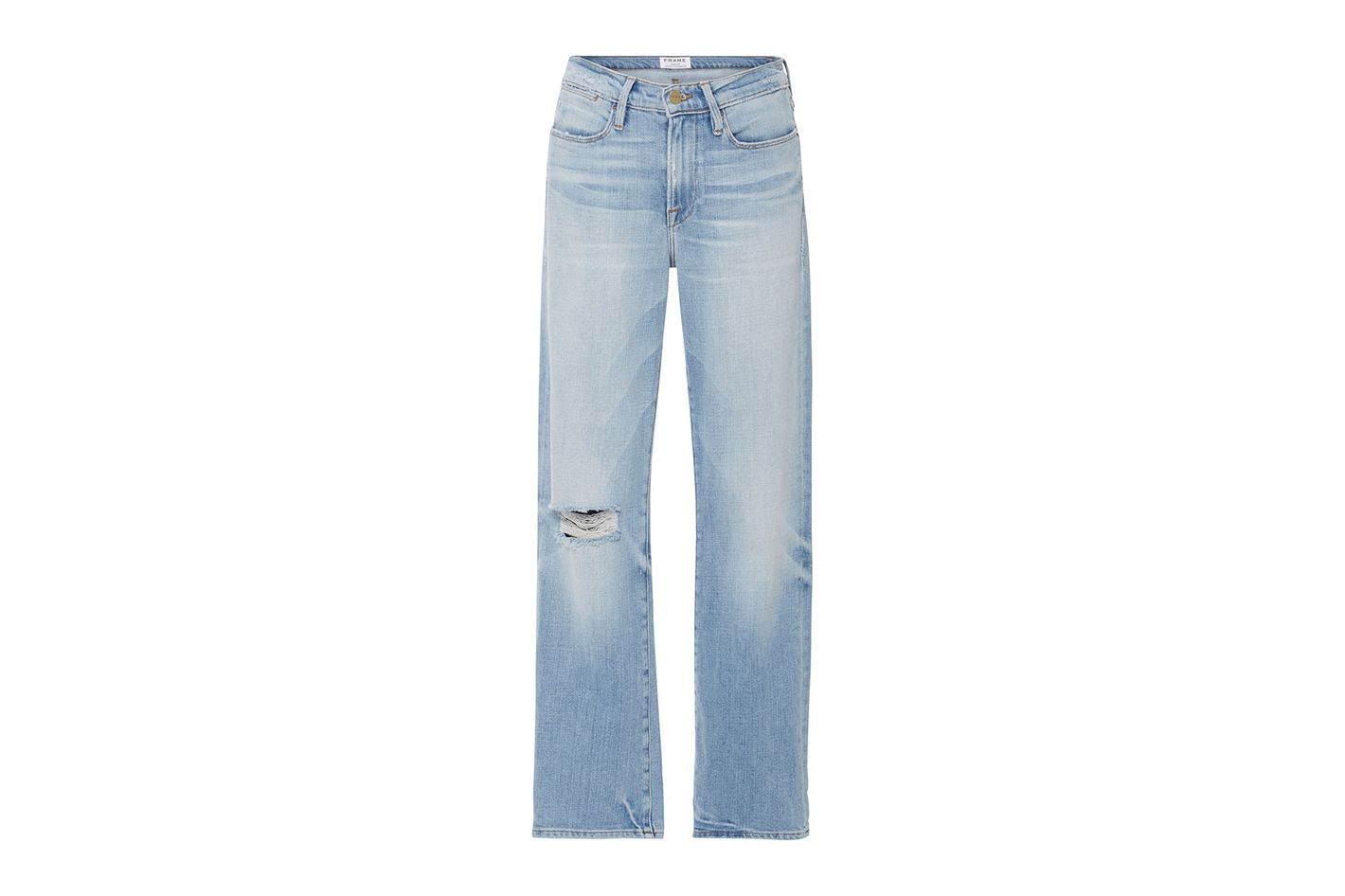 Frame Denim Le High '70s Straight-Fit High-Rise Jeans